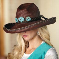 Espresso Panama Hat by Carol Carr