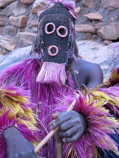 Dance of the masks, Mali by Staffan on Flickr