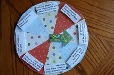 This wheel of service is a wonderful idea!