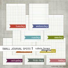 idea, printables, journals, journal spot, free printabl, scrapbook, journal cards, project life freebies, life printabl