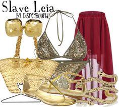 Slave Leia by disneybound