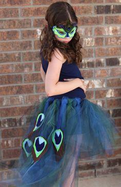 Peacock Skirt Bottom Only by wishesdesignstudio on Etsy