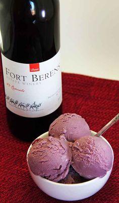 Red Wine Ice Cream   17 Deliciously Boozy Ice Cream Recipes