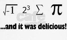 Hehe for Math Jokes.