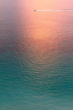 water, color, sunset, the ocean, sea, travel, beach, boat, light