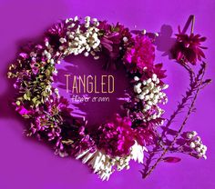 Tangled Movie Night: Flower Crown
