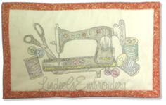 Multimedia with Embroidery: Colored Pencils
