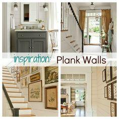 plank walls inspiration