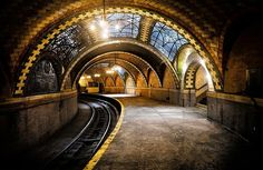 The Ghost Subway Station of New York