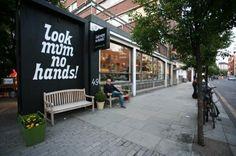 Look Mum No Hands cafe. London