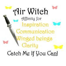 Elements Air:  Air Witch