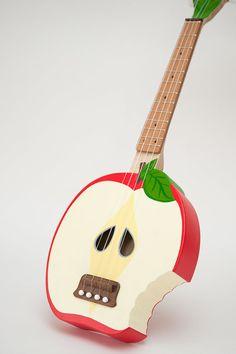 Bitten Apple Ukulele