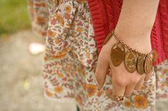 Pressed Penny Charm Bracelet