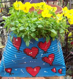great idea!  Outdoor craft