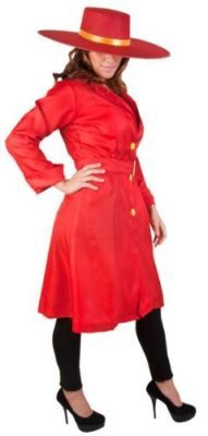 I want to be Carmen Sandiego for Halloween!