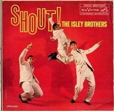 record cover, 1959, soul record, album cover, isley brothersrca, album art, art cover, soul music, shoutgigabit lipstick