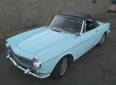 This 1966 1500 Spider was originally white, but was resprayed light blue by its former elderly lady owner. It's recently sat for four years,...