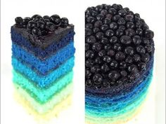Ombre Blueberry.