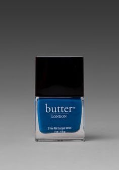 Great color nail polish from butter! LOVE the blue - $14