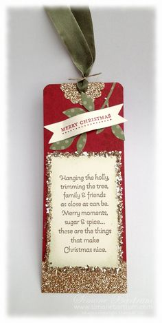Stampin' Up! Christmas Tags