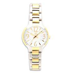 Mercedes Benz Ladies Two Tone Bracelet Watch