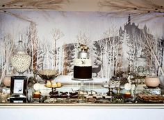 A Narnia and Winter Wonderland Party