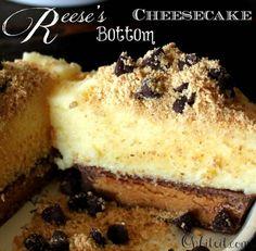 ~Reese's Bottom Cheesecake!