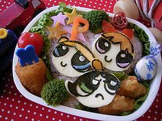 Bento box lunch - too cute to eat!