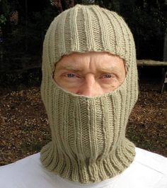 Balaclava Free Knitting Pattern : Knitted Balaclava on Pinterest Welding Helmet, Vintage Knitting and Hooded ...