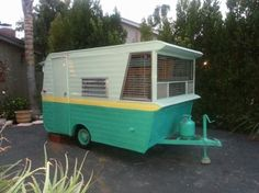 1963 field, houses, window, colors, holidays, minis, vintag trailer, fields, vintag camper