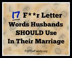 This is SUCH a great list!! It's for husbands, but wives will love this list (and should use these words), too!!