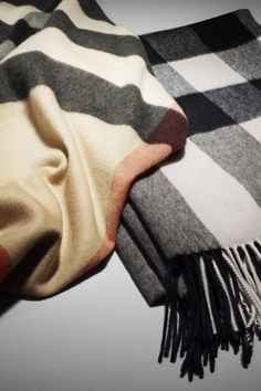 Burberry cashmere scarves for A/W12