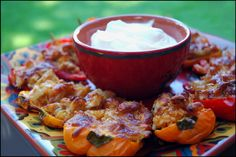 Fajita Style Stuffed Mini Peppers