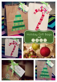 Miss Kindergarten: DIY classroom idea, christmas crafts, christma gift, tag, christmas gift bags, holiday gifts, christma craft, craft ideas, christmas gifts