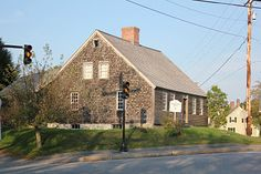 Built in 1754, this was the first house built in Damariscotta, Maine. hous built, first house