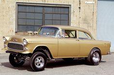 1955 Chevrolet 210 Gasser by ~Vertualissimo on deviantART