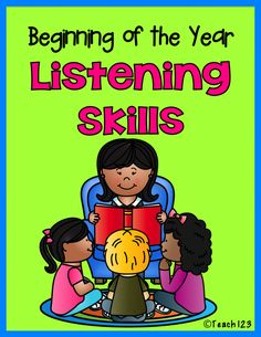 Beginning of the Year:  Procedures and Listening Skills tips plus FREE printables.