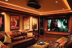 Multipurpose, Multitasking Entertainment Room
