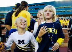 Kid whose Michigan T-shirt was banned at school gets VIP treatment at Wolverines game (Associated Press)