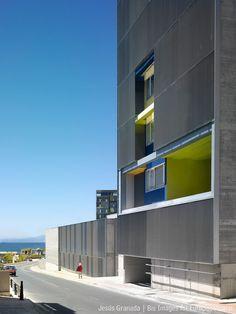 Ceuta, Spain  Viviendas en el Monte Hacho  Europan 5  MGM arquitectos