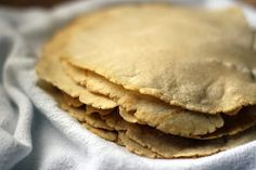 RECIPE: Homemade Corn Tortillas (use masa flour, NOT cornmeal!) #recipe #tortilla #corn #masa