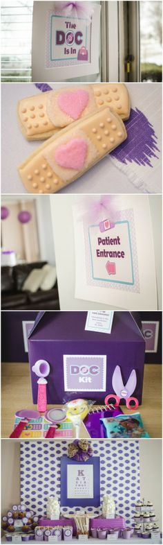 Doc McStuffins Inspired Birthday Party Ideas www.weheartparties.com addyson birthday, birthday parties, parti idea