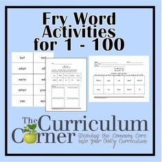 Words sight fry  Work, Word /Phonics   Sight Pinterest and cards on word Word Families printable