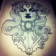 The tattoo sketches of Emily Rose Murray.