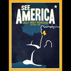 Great Smoky Mountains National Park by Matt Brass  #SeeAmerica