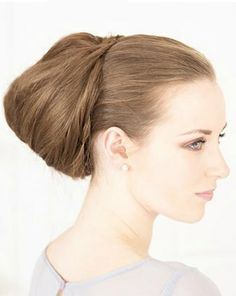 Bouffant Back Bun - Want to do it yourself? click on the image!