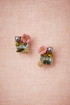 bling, accessori, bridesmaid jewelry, petit cristaux, stud earrings, bridal jewelry, something blue, jewelri, blues