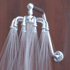Whole website of awesome shower heads like this one! / MB: Wow how cool is this.