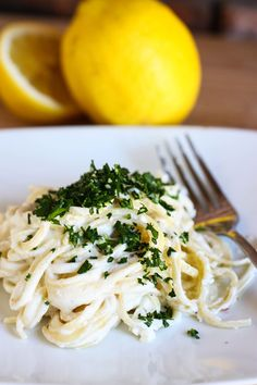 lemon linguine #CMfoodies