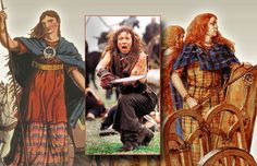 Boudicca (first century; died around 61 CE), British queen who fought a war of resistance against the Romans.
